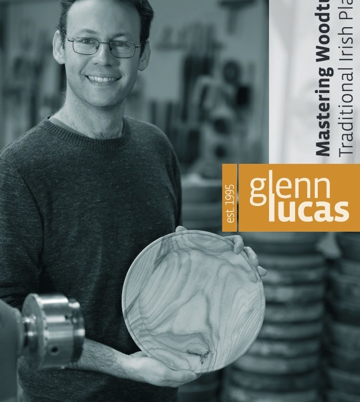 Glenn Lucas cover of dvd 4 woodturned platter